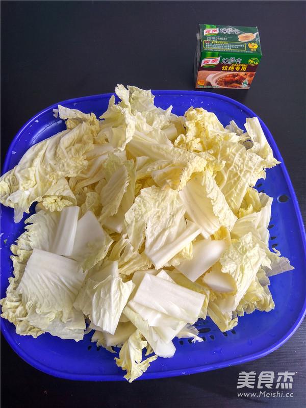 白菜猪肉炖粉条的家常做法