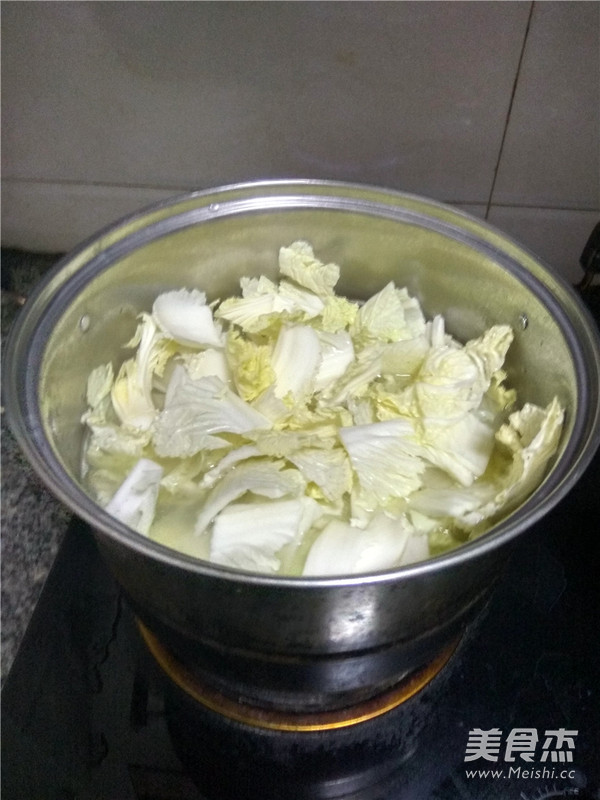 白菜猪肉炖粉条怎么煮
