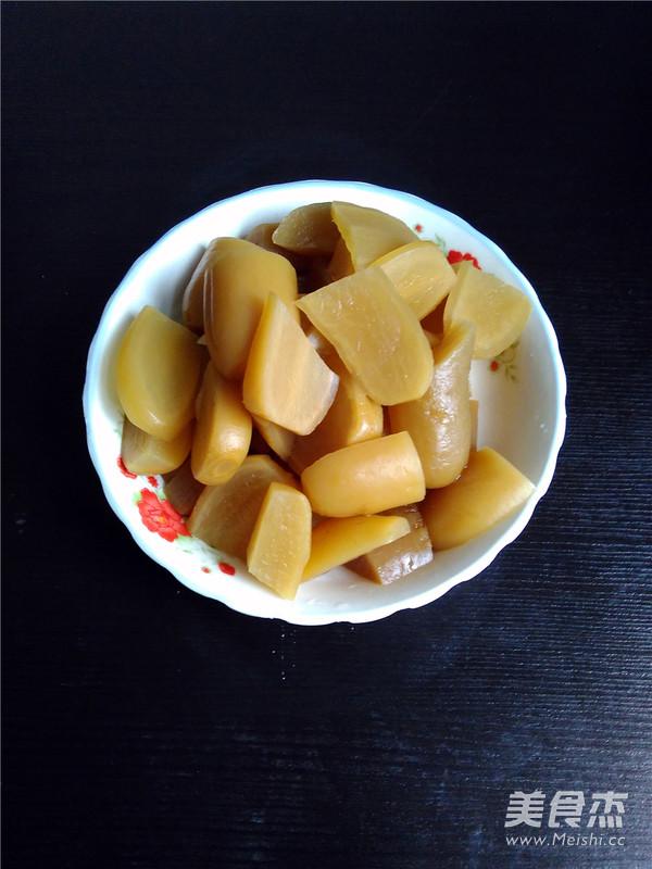 酸萝卜鸭子汤的家常做法