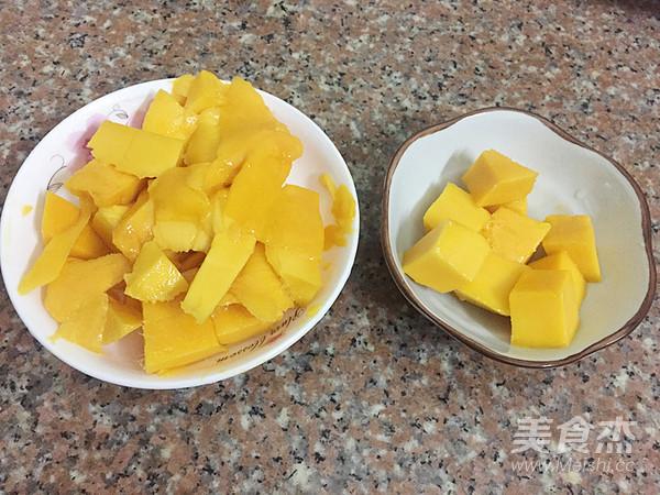 芒果紫薯西米捞的做法大全