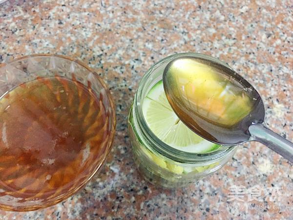 柠檬姜蜜茶怎么做