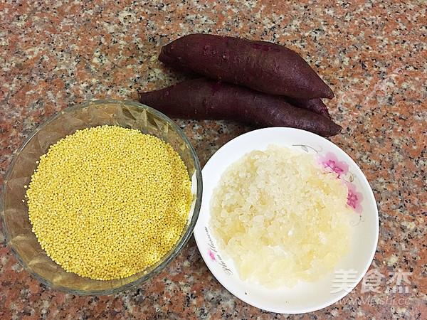 紫薯小米粥的做法大全