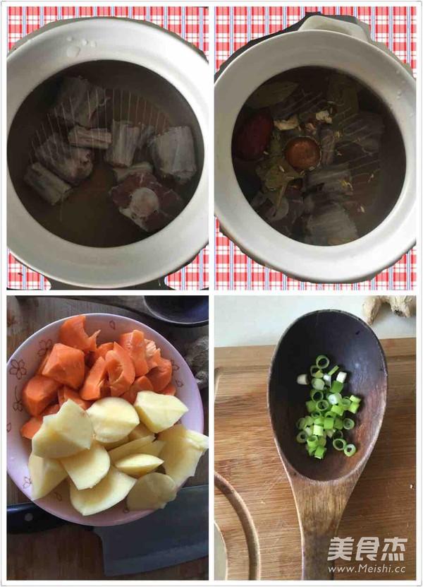 轻药膳滋补牛尾汤的简单做法