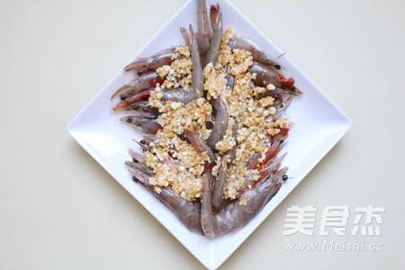 蒜蓉开边虾怎么吃