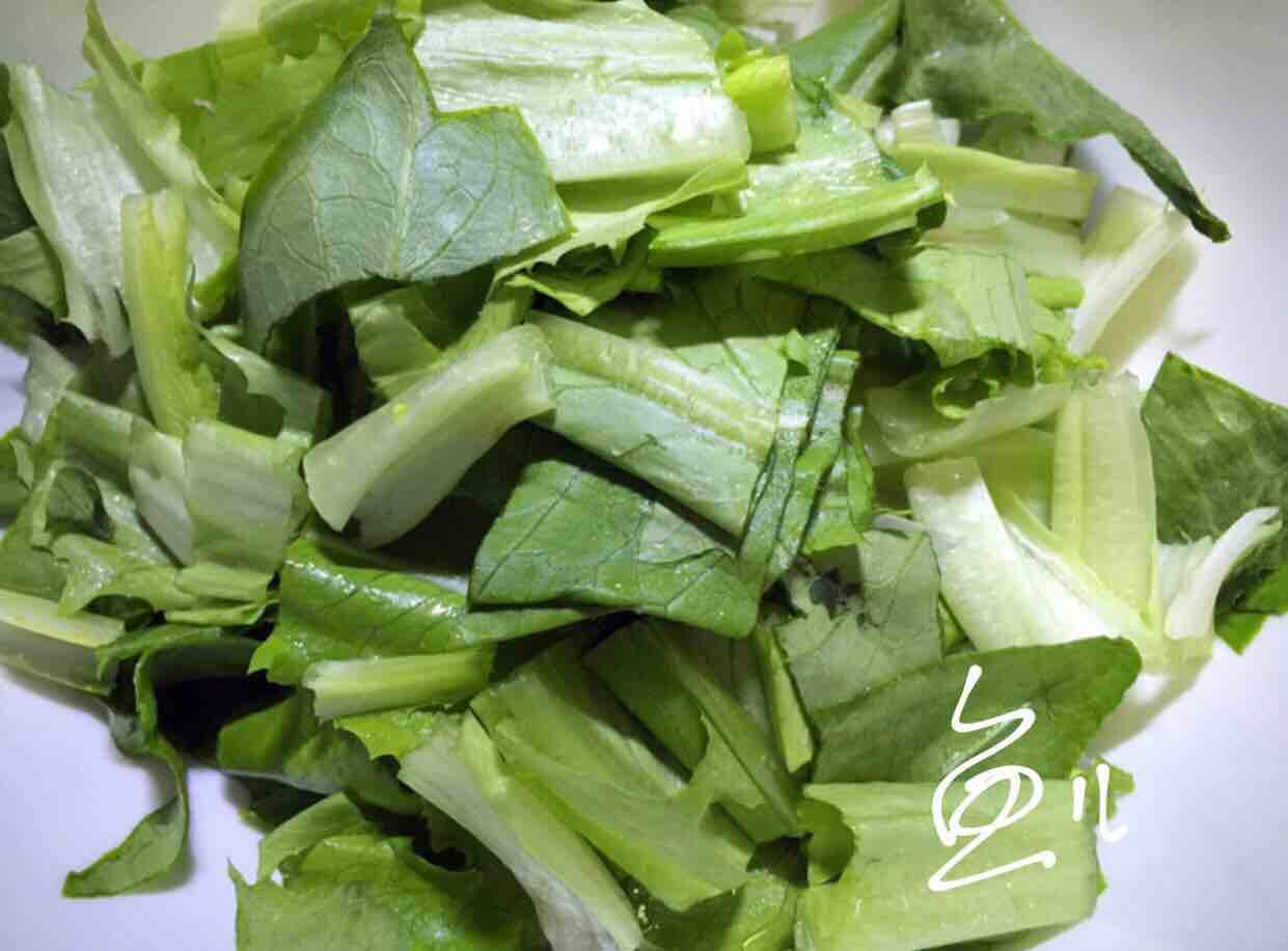 凉拌油麦菜的做法图解