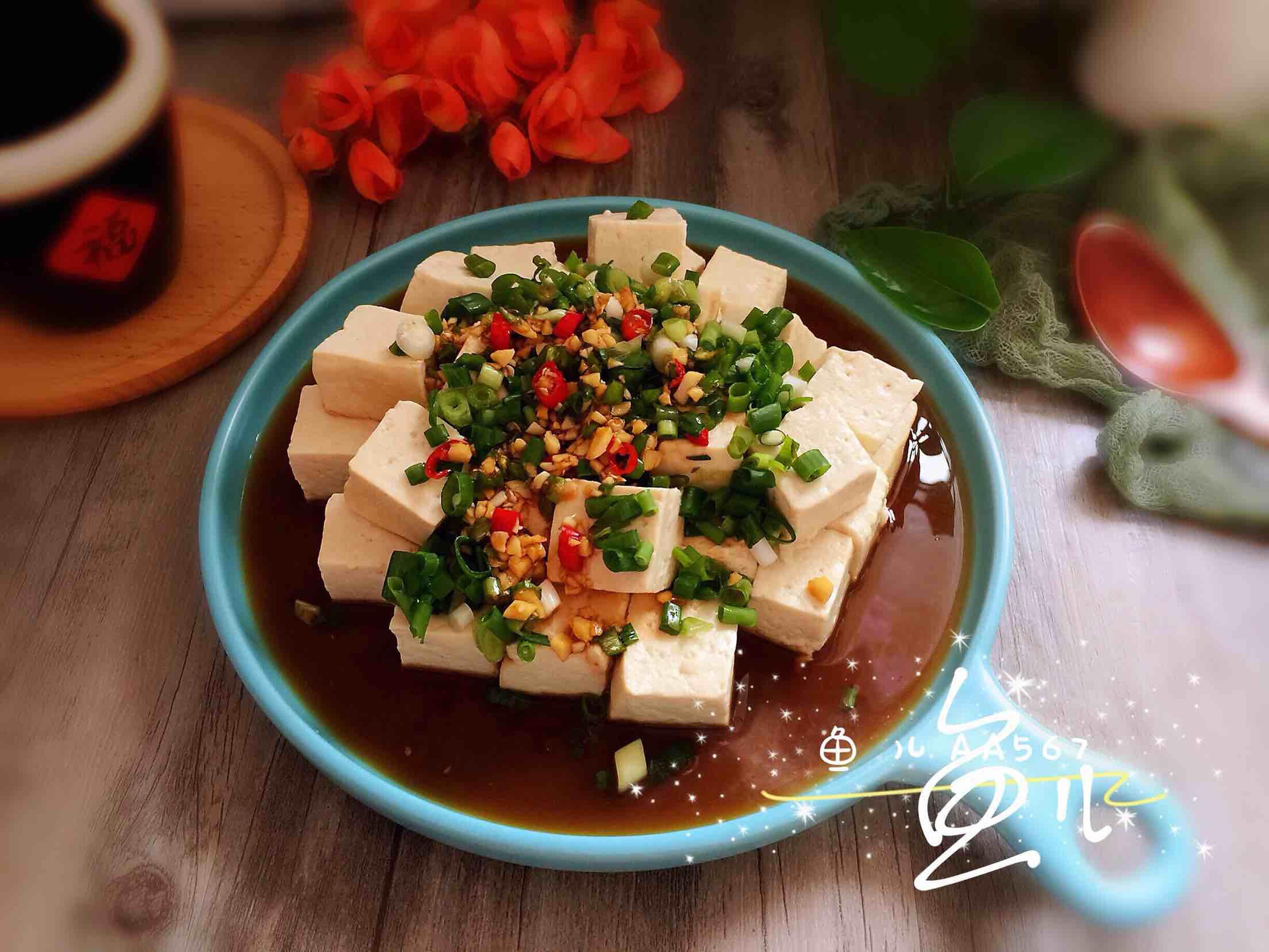 小葱拌豆腐怎样煮