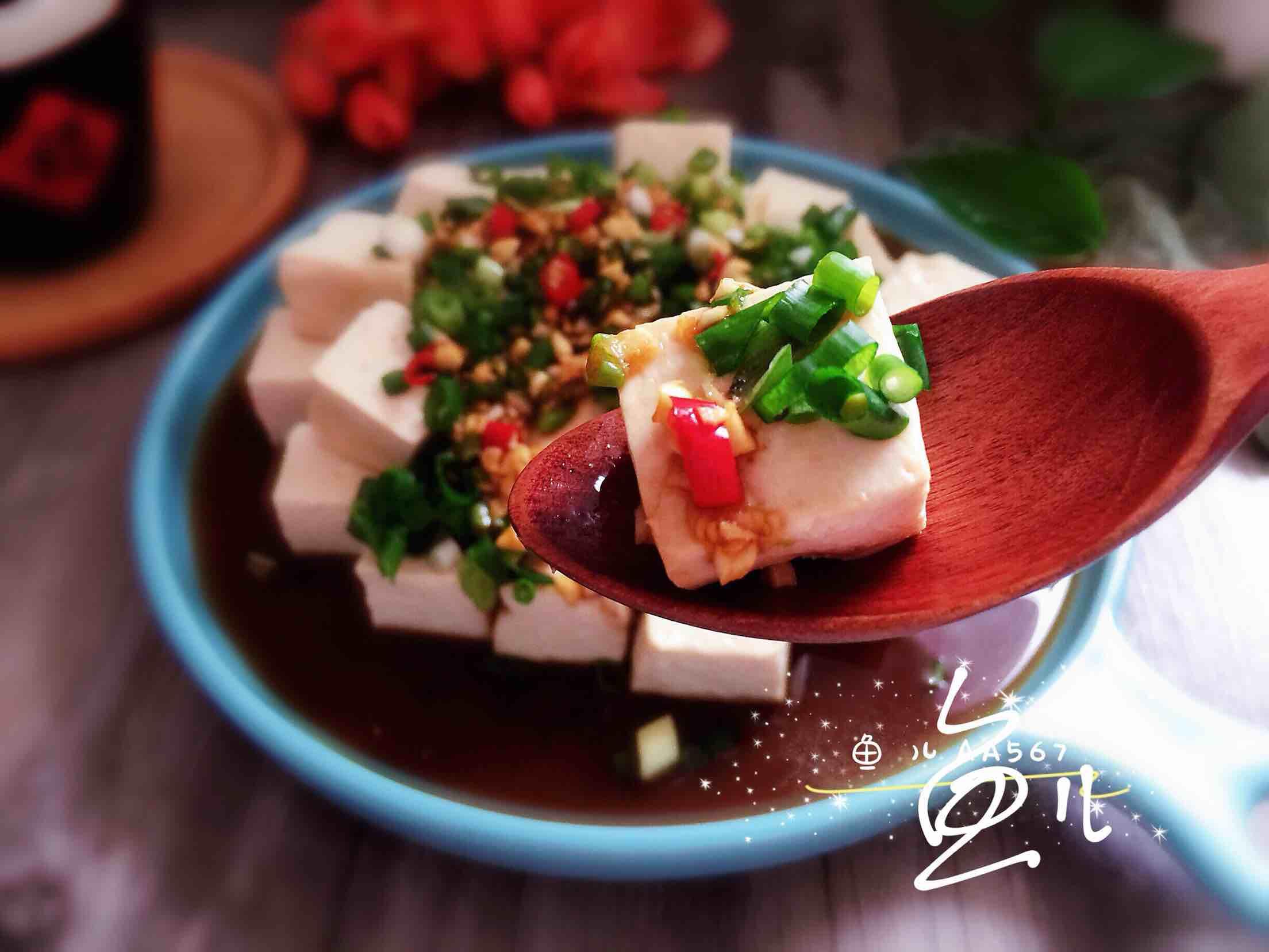 小葱拌豆腐怎样炖