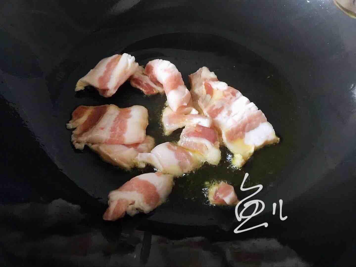 杏鲍菇炒肉片怎么炒