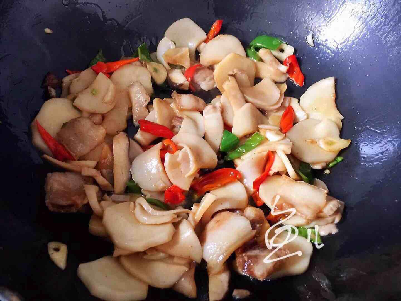 杏鲍菇炒肉片怎样煮
