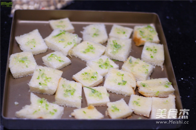 香葱面包片的家常做法