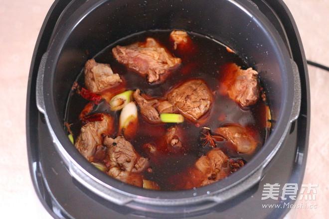 卤牛肉怎么炒