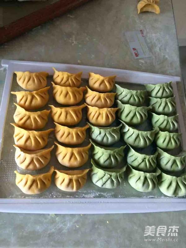 南瓜饺子皮水饺怎么吃
