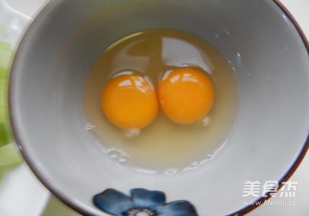 莴笋炒鸡蛋的做法图解