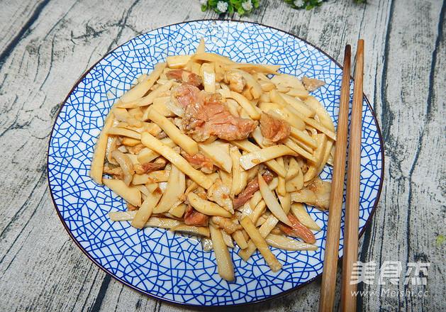 杏鲍菇炒肉怎样炒