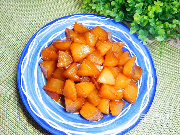 红烧萝卜成品图