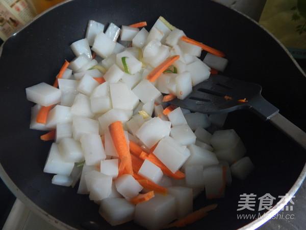 炒凉粉怎么吃