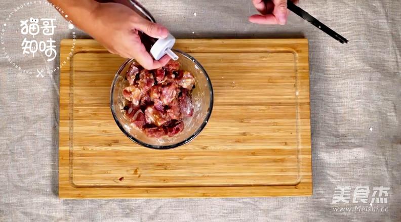 豆豉蒸排骨怎么做