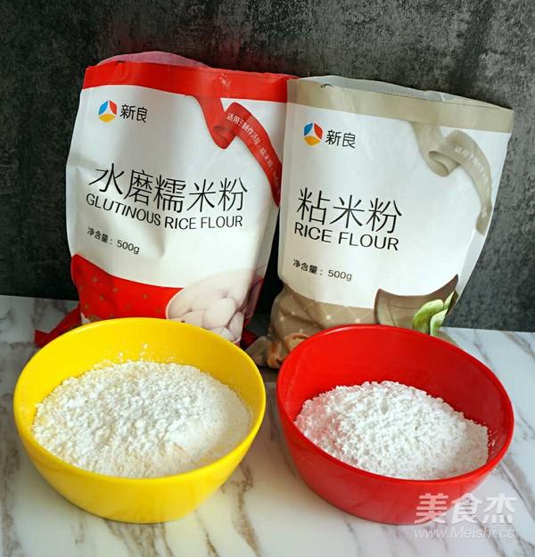 抹茶红豆沙糯米糍的做法图解
