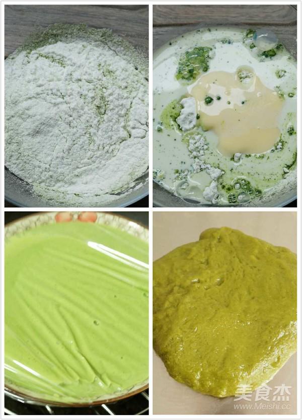 抹茶红豆沙糯米糍的家常做法