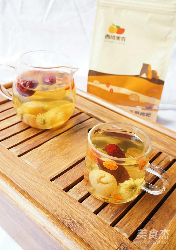 养颜还补血——枸杞红枣桂圆菊花茶的简单做法