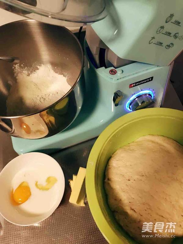 老式面包(中种)的做法图解