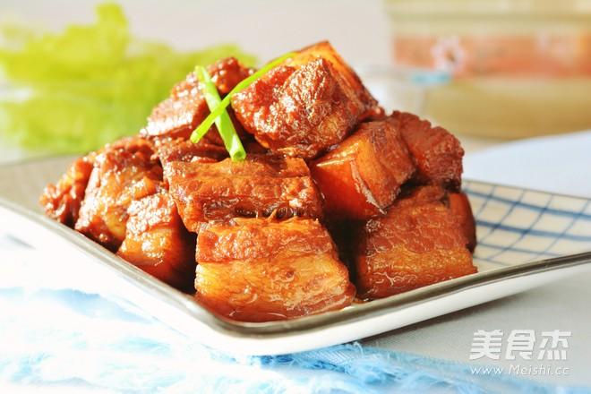 最简单的红烧肉做法成品图