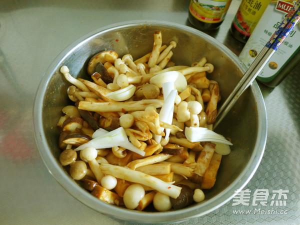 锡纸包烤杂菌菇的家常做法