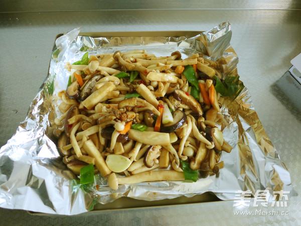 锡纸包烤杂菌菇怎么做