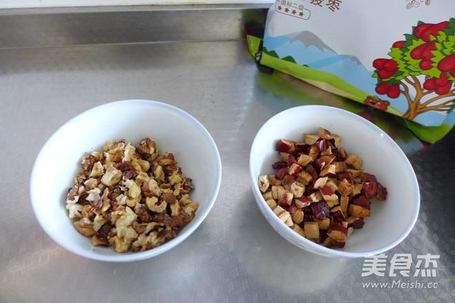 全麦核桃红枣面包的简单做法