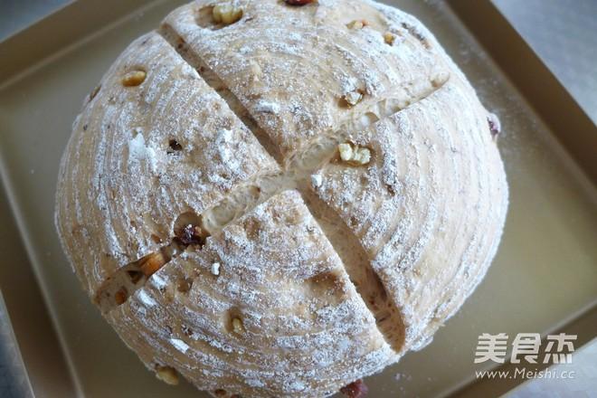 全麦核桃红枣面包怎样煮