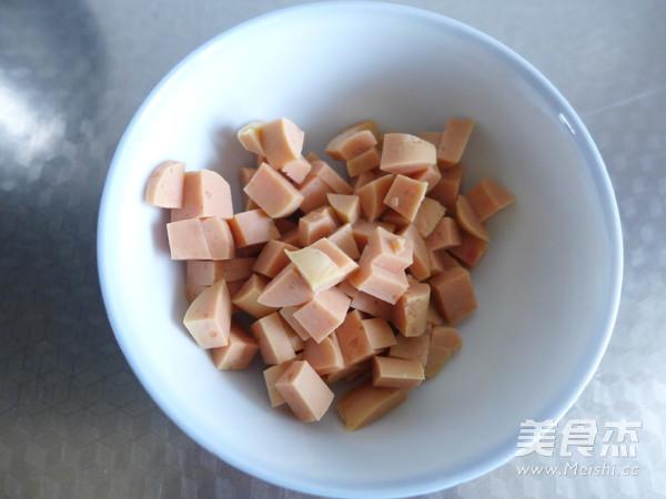 火腿面包卷怎么煮