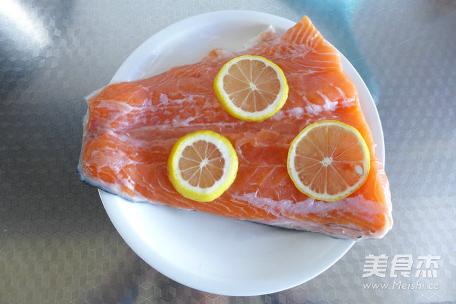 黑椒三文鱼的做法图解