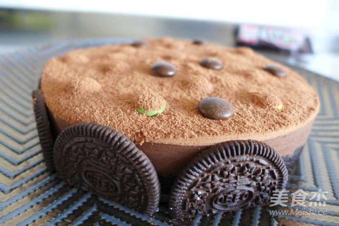 巧克力慕斯蛋糕的制作