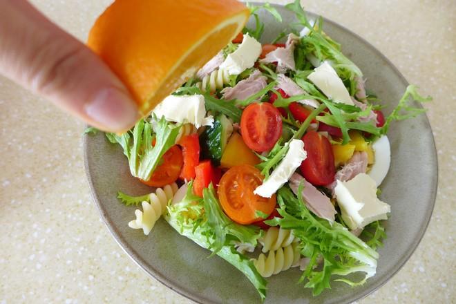 金枪鱼意面果蔬沙拉怎么煮
