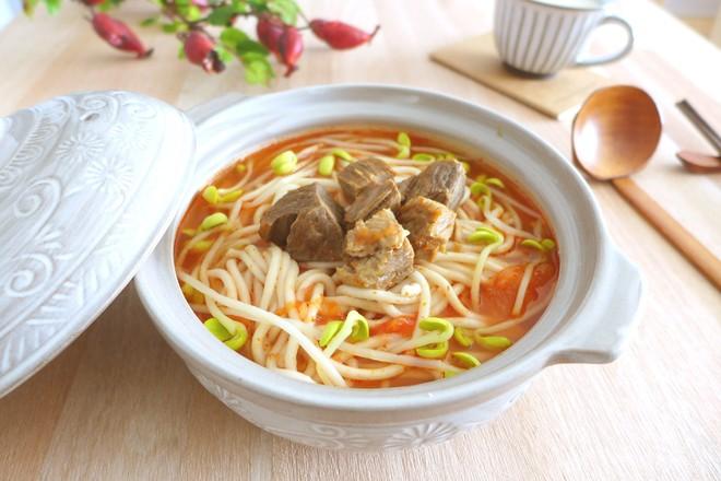 番茄牛肉酸汤面怎样做