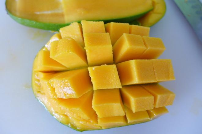 芒果北极虾沙拉的简单做法