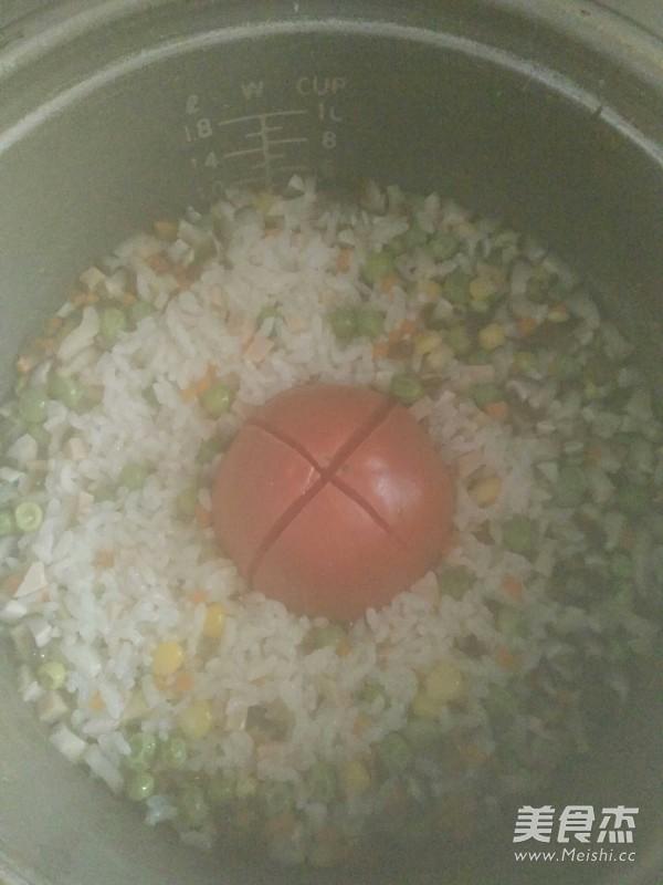 一只番茄饭怎么煮