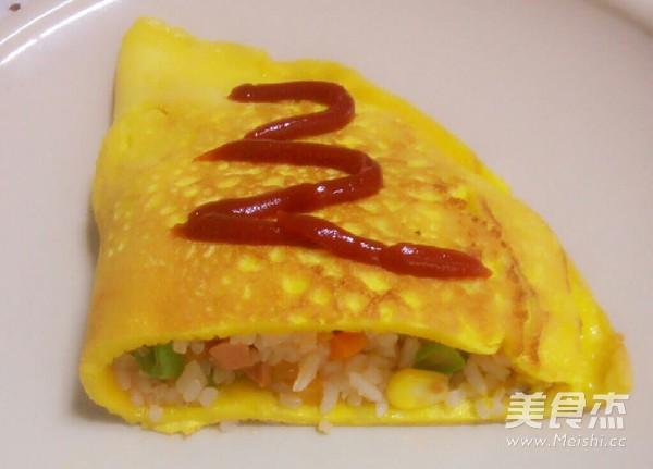 日式蛋包饭怎么炒