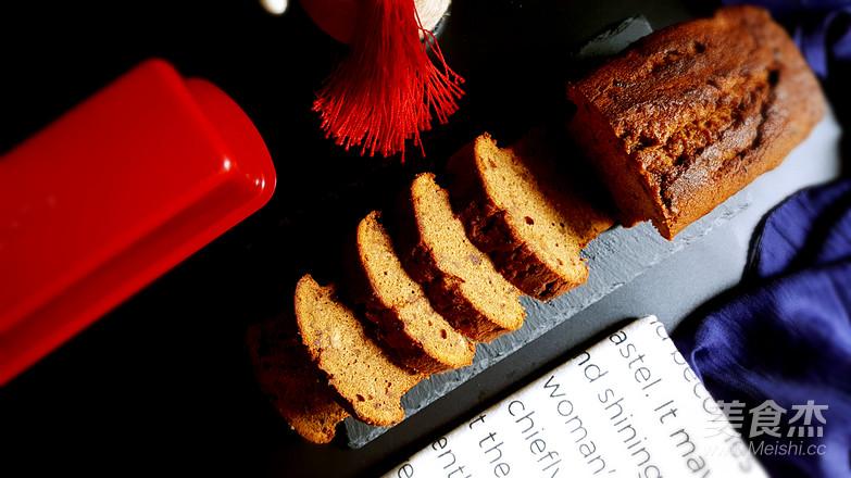 枣泥磅蛋糕成品图