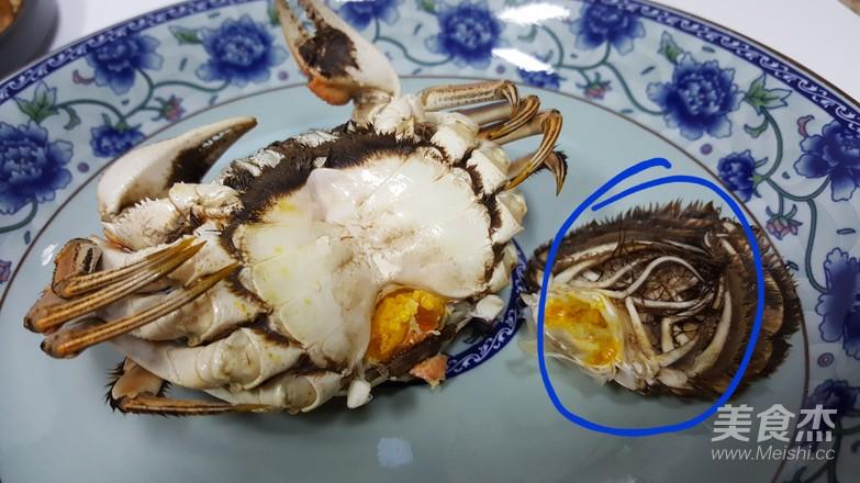 清蒸大闸蟹的制作