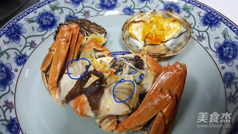 清蒸大闸蟹的制作方法