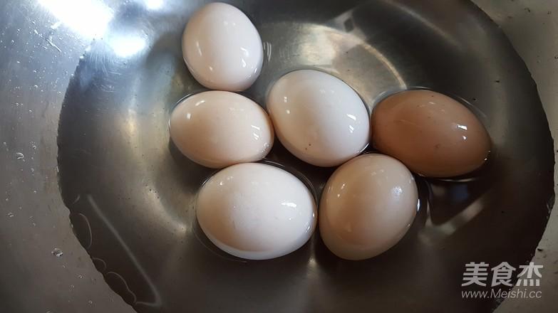酱油卤蛋的步骤