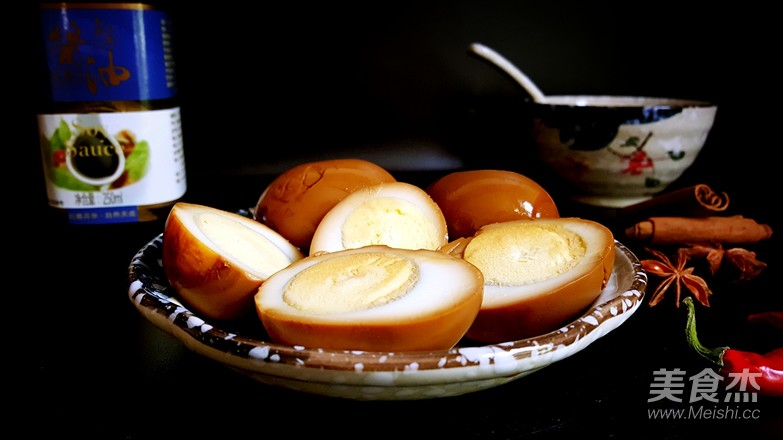 酱油卤蛋成品图