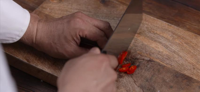 蚝油生菜的步骤