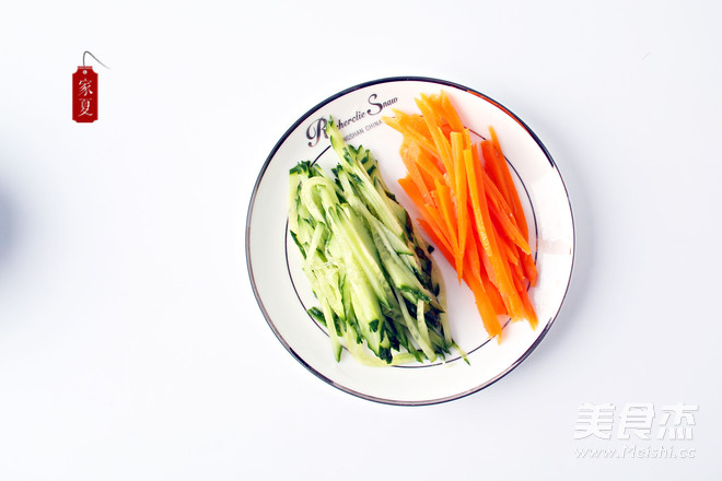 『家夏』快手菜 简易版凉拌鸡丝 好吃易做零失败的做法图解