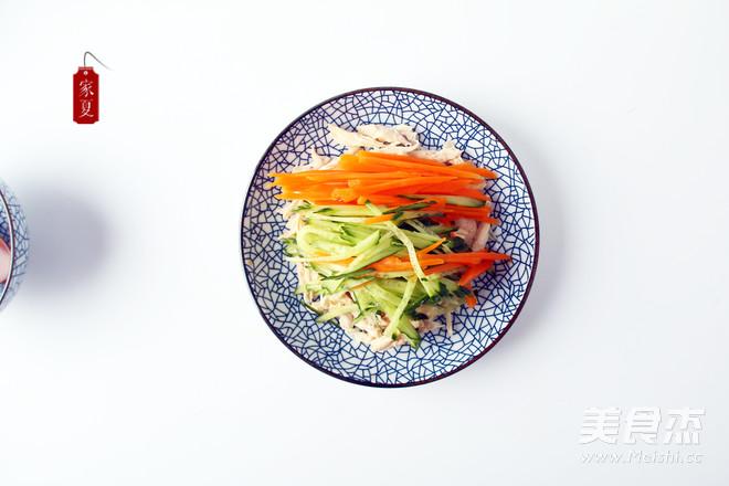 『家夏』快手菜 简易版凉拌鸡丝 好吃易做零失败怎么做