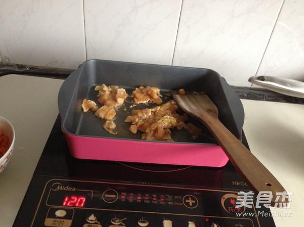 酱香鸡肉西葫芦饼怎么吃