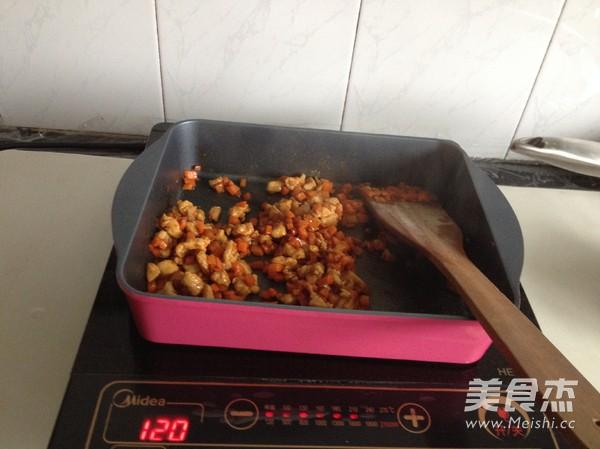 酱香鸡肉西葫芦饼怎么做