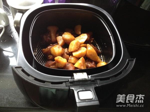 香烤土豆猪蹄怎么炖