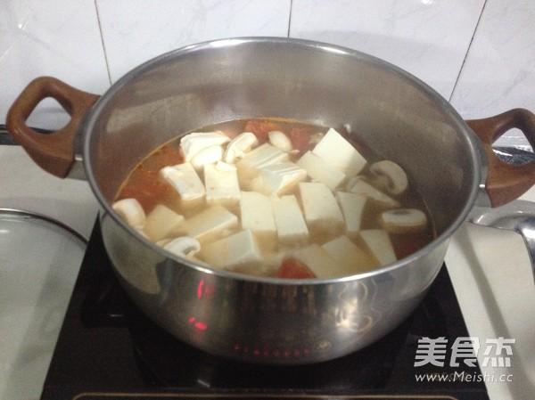 豆腐虾仁一锅鲜怎么做